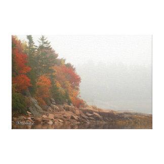 Toile Réflexions d'automne