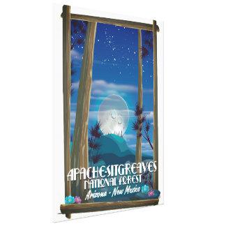 Toile Réserve forestière d'Apache-Sitgreaves