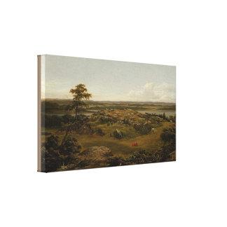 Toile Roches en Nouvelle Angleterre par Martin Johnson