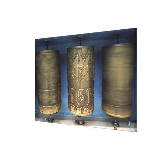 Toile Roues de prière en métal