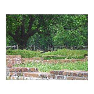 Toile Ruines de règlement de Jamestown