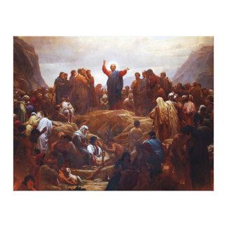 Toile Sermon sur le bâti
