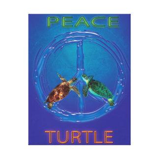 Toile Signe de paix classique