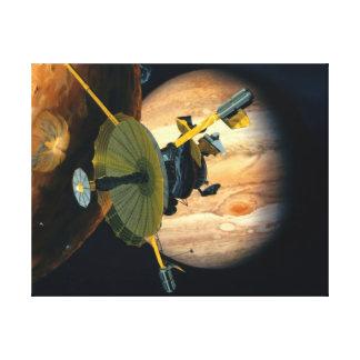 Toile Sonde de Jupiter et de Lo Galilée