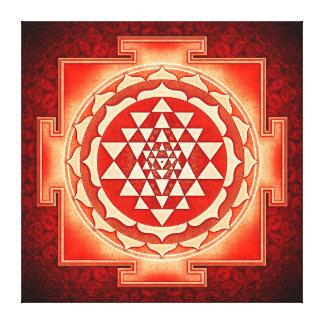 Toile Sri Yantra - Artwork V