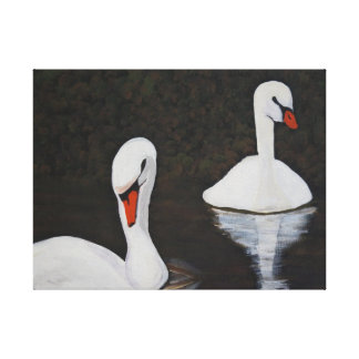Toile Swans