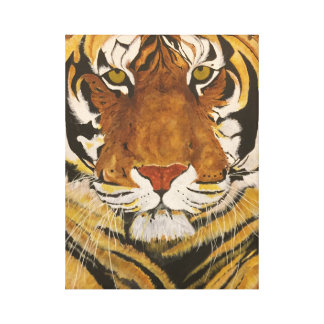 Toile Taille de tigre de la vie de la vie avec cette