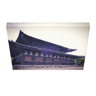 Toile Temple japonais