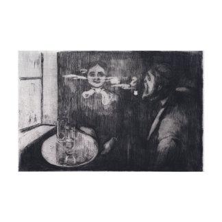 Toile Tête-à-tête d'Edvard Munch