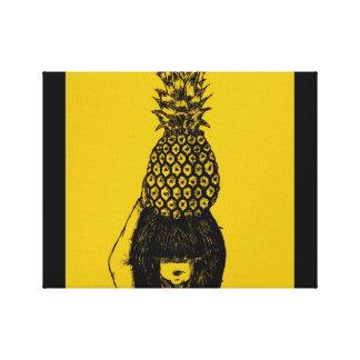 Toile Tête d'ananas