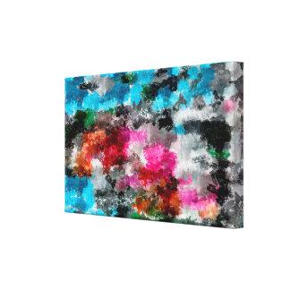 Toile Texture colorée