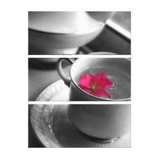 Toile Thé floral