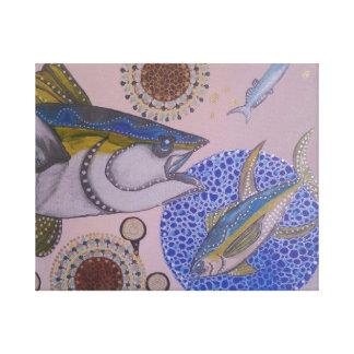 Toile Thon de truite saumonnée