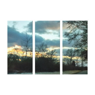 Toile Tour de coucher du soleil # 2