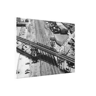 Toile Tour de rivage de chemin de fer de la Pennsylvanie