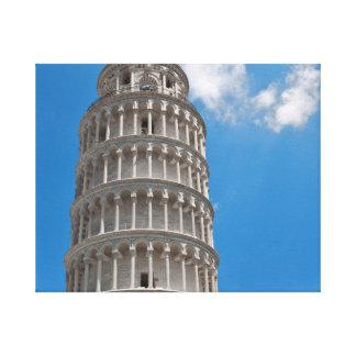 Toile Tour penchée de Pise en Italie