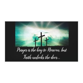 Toile Trois croix