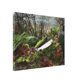 Toile Truite à tête d'acier de rivière de pêche de