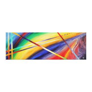 Toile Twighlight des dieux - peinture abstraite