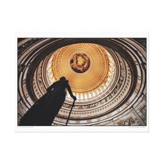 Toile U.S. Capitol rotunda