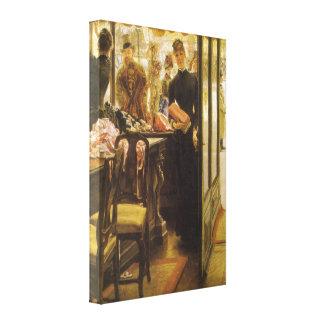 Toile Vendeuse par Tissot, beaux-arts victoriens