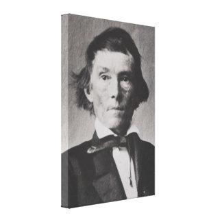 Toile Vice-président confédéré Alexandre Stephens