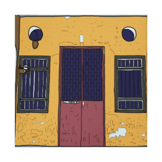 Toile Vieille porte #6 de Penang