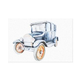 Toile Vieille voiture vintage