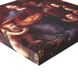Toile Vierge des roches par Leonardo da Vinci
