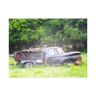 Toile Vieux camion