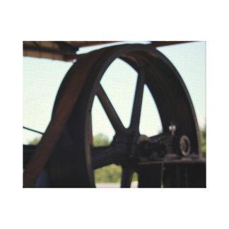 Toile Vieux moteur