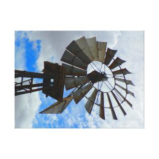 Toile Vieux moulin de vent