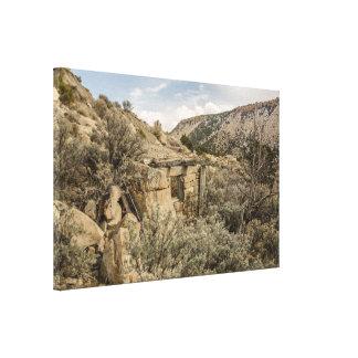 Toile Villes fantômes ; Construction ; Sans paire, Utah
