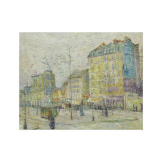 Toile Vincent van Gogh - Boulevard de Clichy