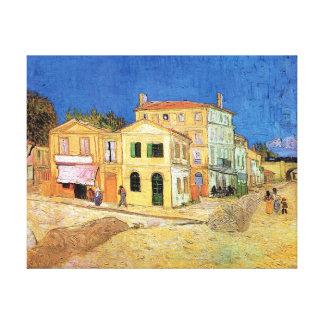 Toile Vincent van Gogh - la Chambre jaune - beaux-arts