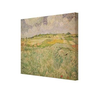Toile Vincent van Gogh   la plaine chez Auvers, 1890