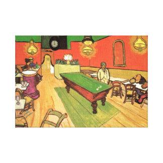 Toile Vincent van Gogh - le café de nuit dans Arles