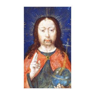 Toile Visage saint de Gerard David