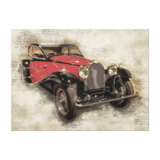 Toile Voiture ancienne