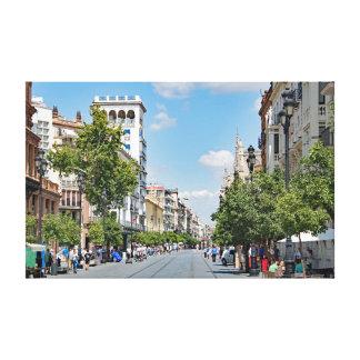 Toile Vue du centre de Séville