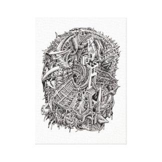 Toile Weirdhead par Brian Benson