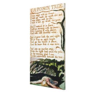 Toile William Blake | un arbre de poison