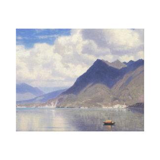 Toile William Stanley Haseltine - Lago Maggiore