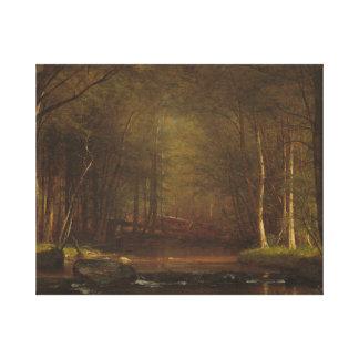 Toile Worthington Whittredge - ruisseau de truite
