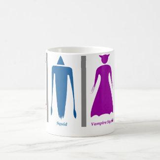 Toilette de céphalopodes mug