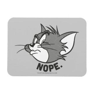Tom et Jerry   Tom dit Nope Magnet Flexible
