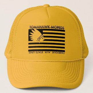 Tomahawk a broyé du noir le casquette américain de