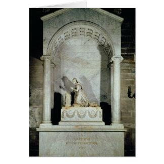 Tombe d'impératrice Josephine 1825 Carte