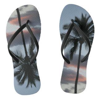 Tongs Bascules électroniques de surfer de palmier