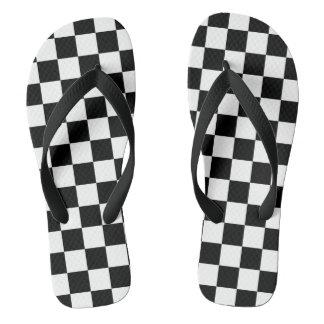 Tongs Drapeau Checkered